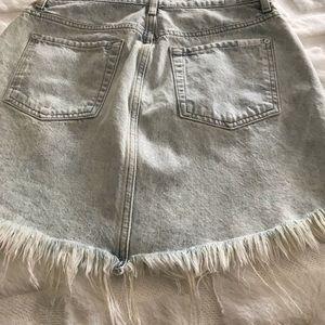 7Forallmankind mini skirt